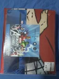 Jogo de cama Marvel CAP América