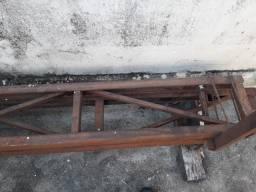 estrutura metalica 2 de 9 metros e 2 de 6 metros