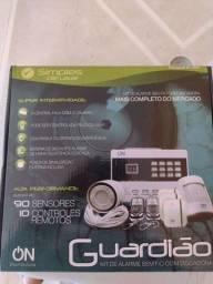 Vendo kit alarme sem fio com discadora