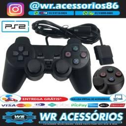 Controle para PS2 - Entrega Grátis