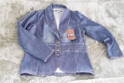 Jaqueta jeans Nova tamanho M