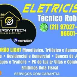 Eletricista Instalação elétrica de Relógio e Poste de Aço Manutenções Elétricas
