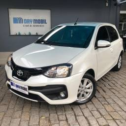 Toyota Etios X Plus 1.5 Aut. - 2020 - Único Dono
