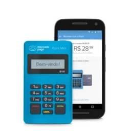 Kit com 5 máquinas de cartão point mini D150 mercado pago