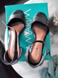 Sandália de salto Ramarim