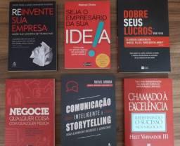 Kit com 6 Livros de Empreendedorismo
