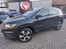 Jeep Compass Longitude 2.0 Flex Aut 2018 Completissimo - Interior Creme !!!