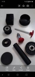 Roldanas e peças reposição para aparelhos musculação