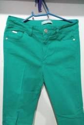 Calça Verde Semi Nova