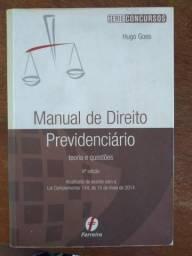 Manual de Direito Previdenciário - Hugo Goes