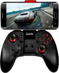 Controle Bluetooth Para Celular Quanta Qtjbs4000 Usb Vermelho