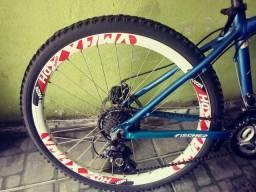 Bicicleta freio disco aro 26