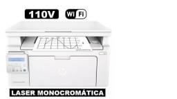 Impressora Multifuncional Laser Hp M130nw Pro Wi-fi 110v