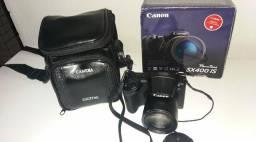 Câmera digital semiprofissional Canon