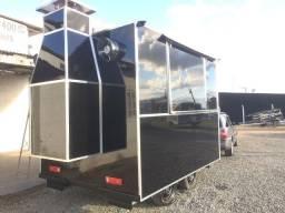Food trailer truck