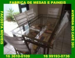 Mesa de jantar 8 cadeira fabrica facosta moveis ligue no watt 16 991930736