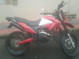Vendo ou troco moto pra roça - 2012