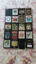 Lote com 20 Cartuchos com os melhores jogos para Atari 2600