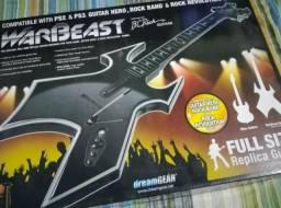 Guitarra Warbeast, Guitar Hero, Rock Band