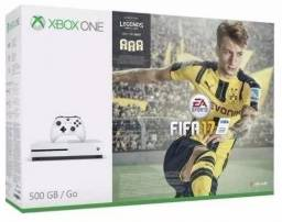 Console Xbox One Branco 500gb + Fifa 17!! novo na caixa!!!(ñ Ps4)