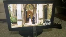 TV de 26 polegada funcionando perfeitamente