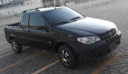 Fiat strada 1.4 ce . flex completa ar trava dh alrme - 2009