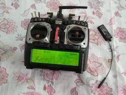 Rádio Hitec Aurora 9 para aeromodelo / aeromodelismo