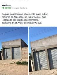 Galpão.
