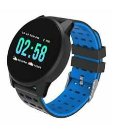 Relógio Inteligente W1 Pressão Arterial E Monitor Cardíaco