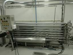 Pasteurizador Inox Tubular Concentrico