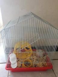 Hamster+gaiola