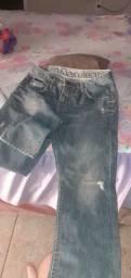 Calça jeans kalvin klein tam 40