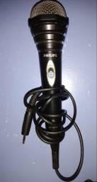 Microfone Philips + cachimbo
