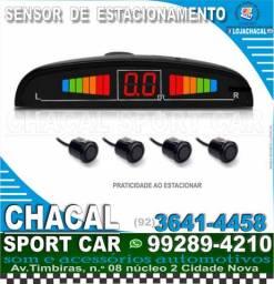 Título do anúncio: Sensor de estacionamento (cor preto) novo e com nota fiscal