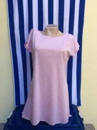 Saída de praia rosa Flamê