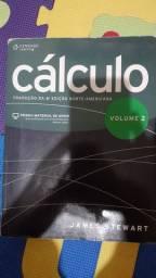 Livro cálculo volume 2 James stewart 6°edição aceito cartão
