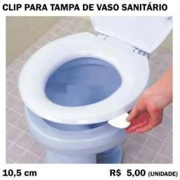Clip para Tampa de Vaso Sanitário