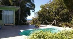 Chácara na Vargem Grande com piscina e vista para o mar