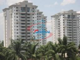 Ótimo Apartamento Climatizado para Locação com Moveis Planejados, Condomínio Reserva do Bo