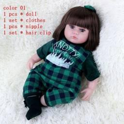Linda boneca bebê reborn corpo de pano tenho outros modelos me chame no zap