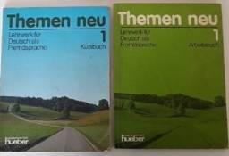 Themen Neu 1 (Livro texto e de Exercícios separados) - Livro Alemão - Usado