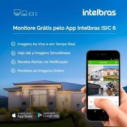 Kit cftv Intelbras com 4 câmeras