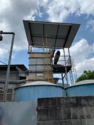 Sistema de ar filtro de mangas