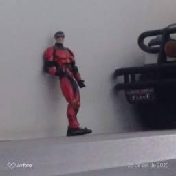 15 bonecos super heróis