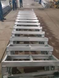 Construção e Reformas em aço galvanizado Steel com acabamentos
