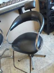 Cadeira para salão de beleza hidráulica futurama