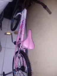 Bicicleta Cross com rodinhas