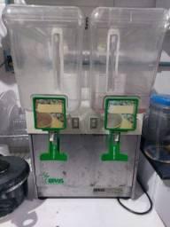 Refresqueira Dupla inox 30 litros