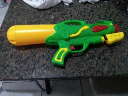 Troco arma nurf,arma de água, arma de mira,par raquetes