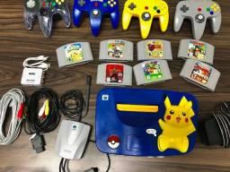 Nintendo 64 Pikachu (edição especial)